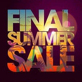 FINAL SUMMER SALE 2018